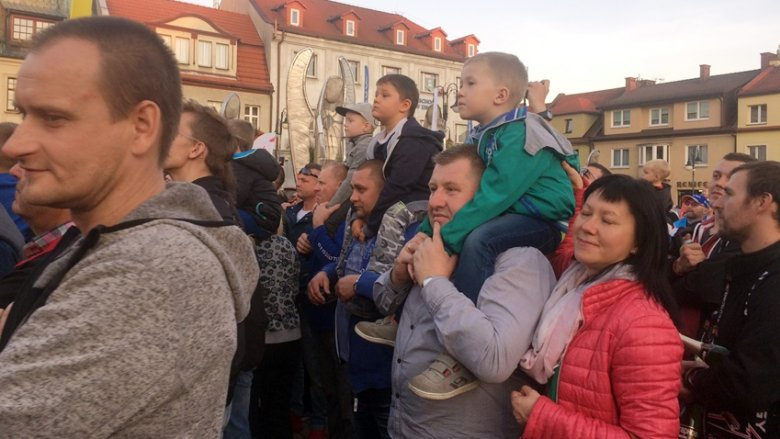 Nie brakowało maluchów na mecie Rajdu Śląska (fot. mat. SilesiaDzieci.pl)