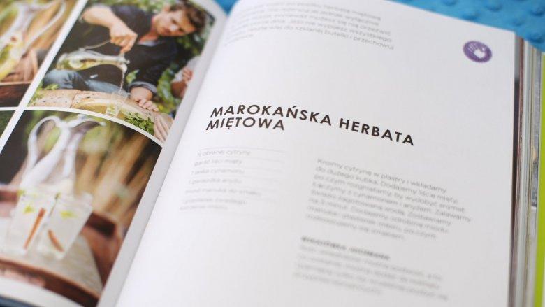 """""""Juiceman"""" to ciekawe przepisy na soki i koktajle dla całej rodziny (fot. Ewelina Zielińska)"""