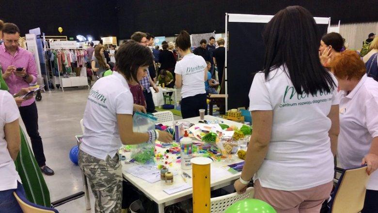 W targach SILESIA BAZAAR Kids v. 6 wzięła udział również Fundacja Meritum (fot. SilesiaDzieci.pl)