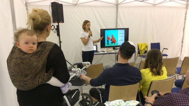 W ramach targów SB Kids odbędzie się też 2. Festiwal Świadomych Rodzin - warsztaty, prelekcje i spotkania ze specjalistami (fot. mat. SilesiaDzieci.pl)