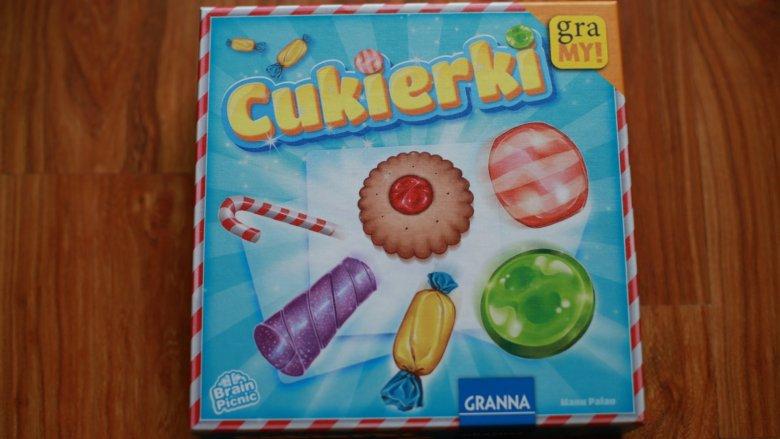 """""""Cukierki"""" to logiczna gra rodzinna od wydawnictwa Granna (fot. Ewelina Zielińska)"""