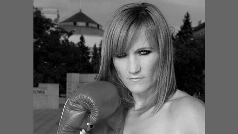 Ambasadorką projektu została wielokrotna mistrzyni świata i Europy w kick-boxingu i boksie - Iwona Guzowska (fot. archiwum zdjęć Iwony Guzowskiej na Fb)