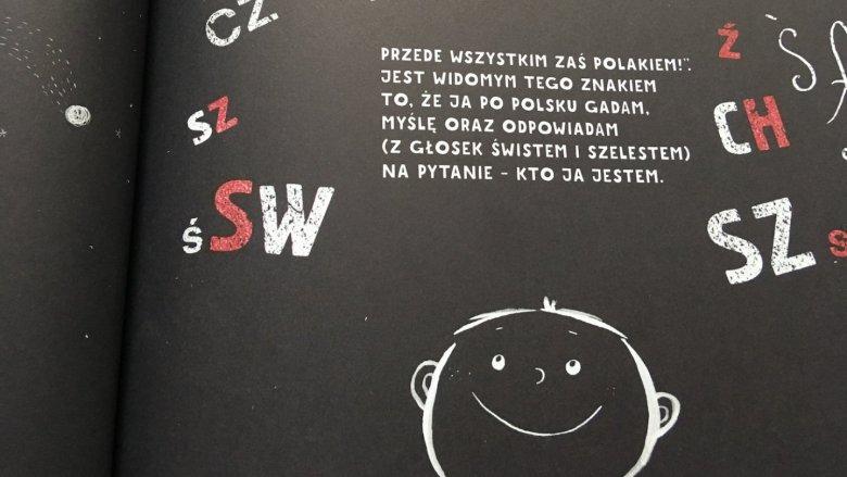 Patriotyzm opowiedziany przez Michała Rusinka jest szczery, radosny - prawdziwie dziecięcy (fot. Ewelina Zieliński/SilesiaDzieci.pl)