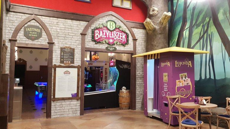 9 listopada nastąpi otwarcie Jamy Bazyliszka - miejsca gier zabaw, aktywnej rekreacji i rodzinnego relaksu(fot. Katarzyna Esnekier/SilesiaDzieci.pl)
