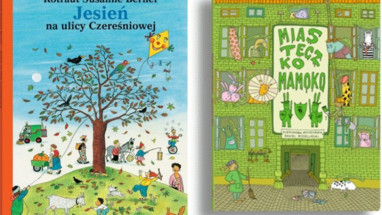 Książki obrazkowe rozwijają wyboraźnię i umiejętność formułowania wypowiedzi u dzieci (fot. materiały księgarni usmesmake.pl)