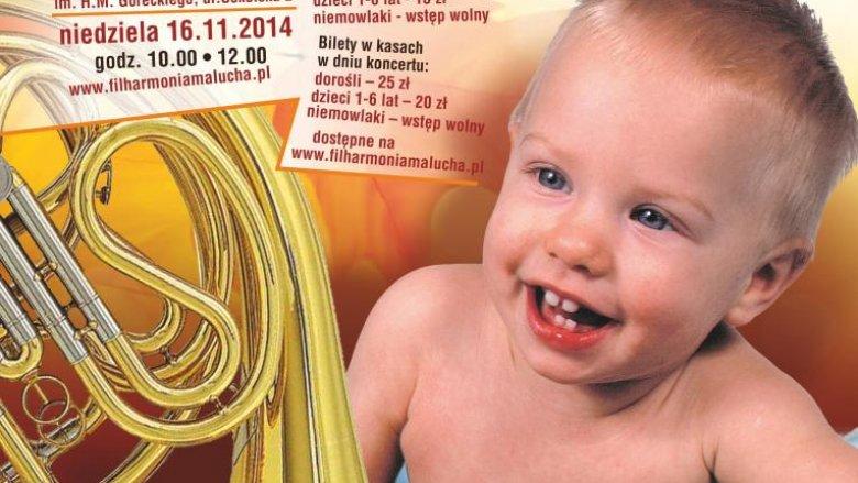 Kolejna edycja Filharmonii Malucha (fot. mat. org.)