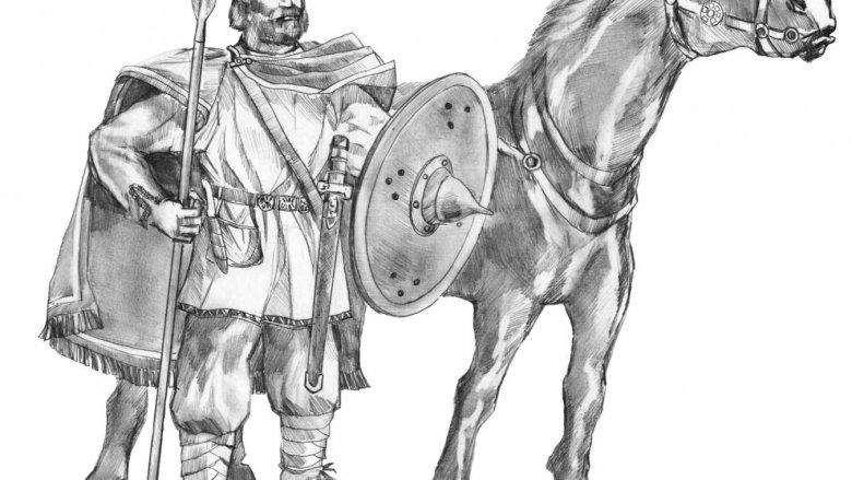 Archeodzieciaki w gliwickim muzeum poznają obyczaje rycerzy (na rys. wojownik z Pławniowic, arch. MG)