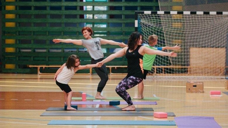 Bezpłatne zajęcia z jogi dla dzieci odbędą się w Pawłowicach (fot. mat. organizatora)
