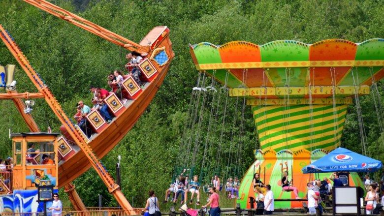 JuraPark to również dobra zabawa w Parku Rozrywki (fot. mat. JuraPark Krasiejów)