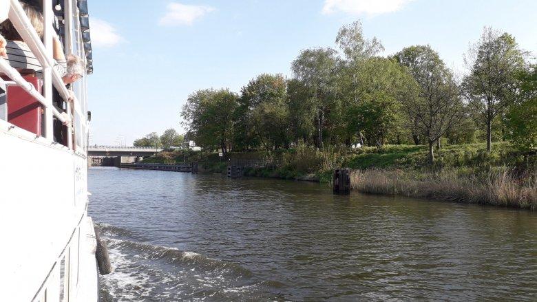 Marina Gliwice mieści się przy ul. Portowej 28 (fot. Agnieszka Mróz/SilesiaDzieci.pl)