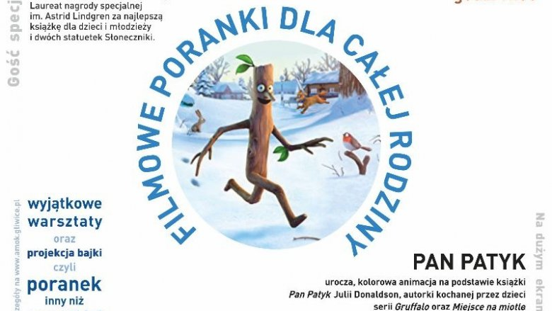 """Filmowym bohaterem Saloniku będzie """"Pan Patyk"""" (fot. mat. kino Amok)"""