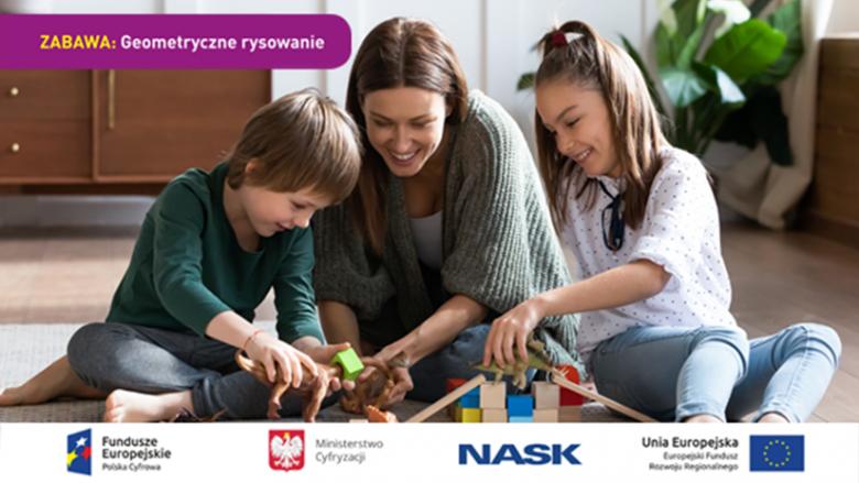 Cykl zabaw będzie publikowany co drugi dzień na stronie koduj.gov.pl zaczynając od 18 marca (fot. mat. koduj.gov.pl)