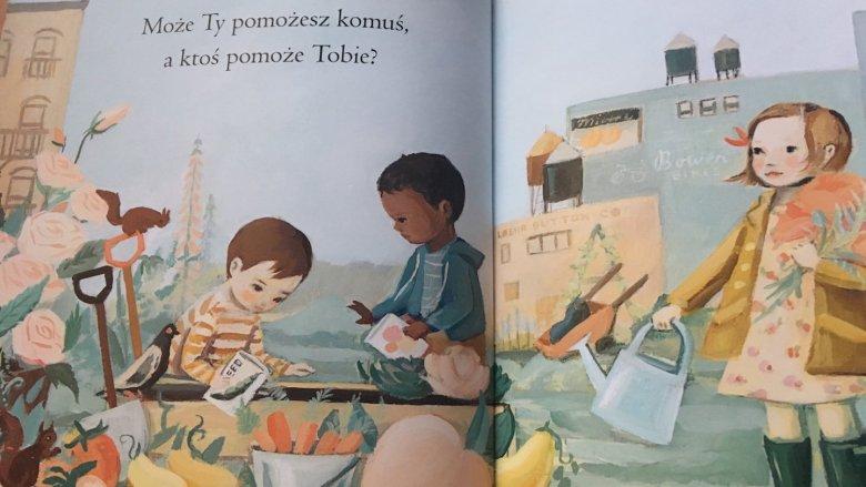 Wzruszającej opowieści towarzyszą wspaniałe ilustracje (fot. Ewelina Zielińska/SilesiaDzieci.pl)