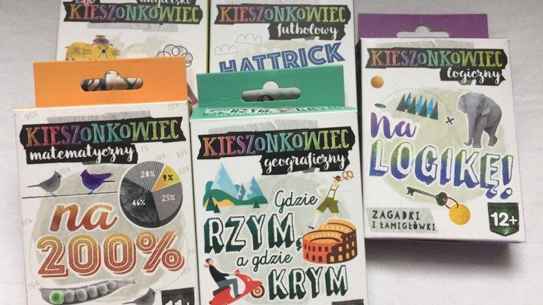 Kieszonkowce to maksymalna ilość wiedzy i rozrywki w minimalnej formie (fot. Ewelina Zielińska/SilesiaDzieci.pl)