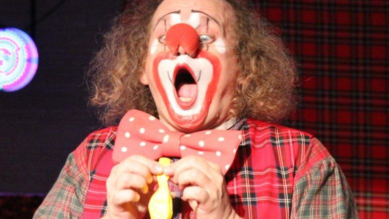 Klaun Pinezka (fot. materiały CH Auchan)