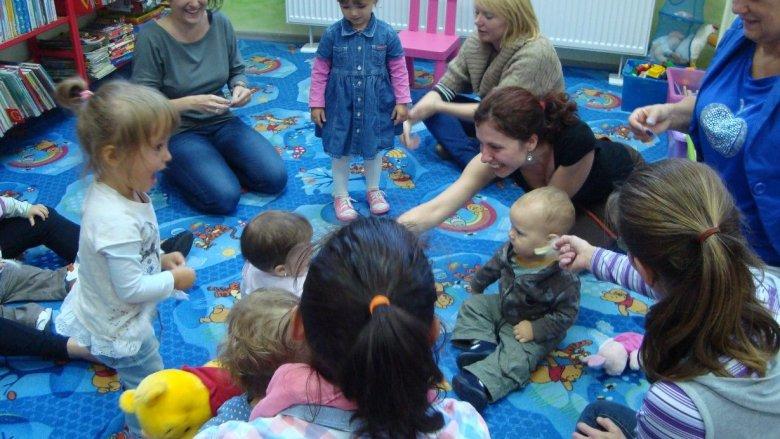 Klub Złotych Mam powstał z naturalnej potrzeby spędzania w interesujący sposób czasu z dzieckiem (fot. materiały organizatora)
