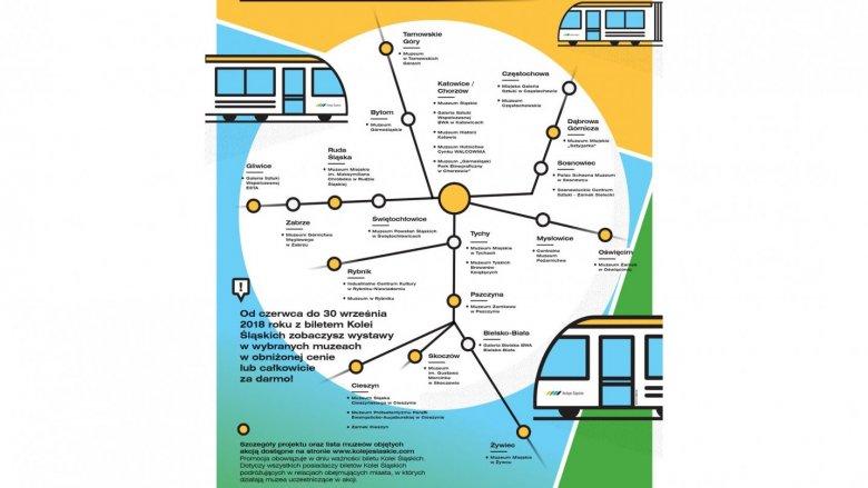 Mapa placówek, w których obowiązuje promocja (fot. mat. organizatora)