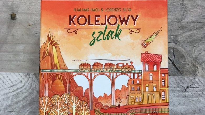 """""""Kolejowy szlak"""" to gra wizualnie minimalistyczna i spójna (fot. mat. Ewelina Zielińska/SilesiaDzieci.pl)"""