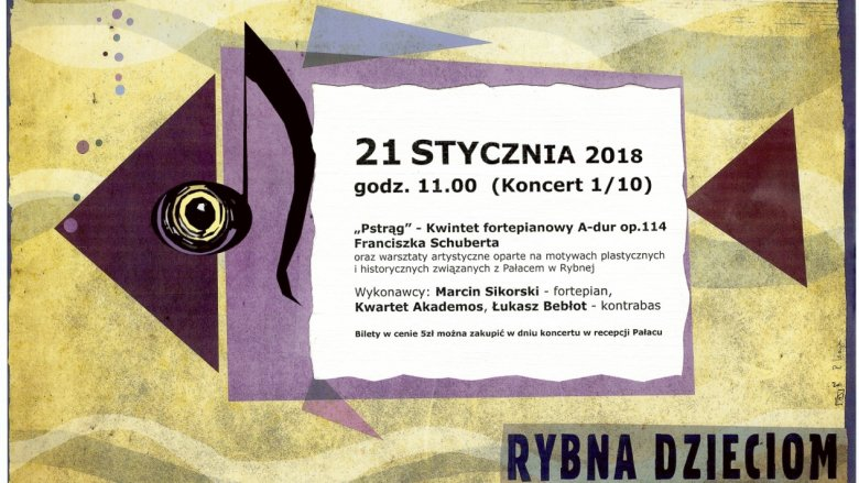 Królestwo Muzyki W Pałacu Silesia Dzieci