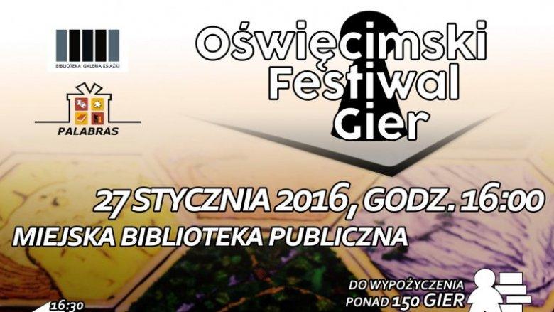 Oświęcimski Festwial Gier to impreza dla wszystkich fanów planszówek (fot. mat. organizatora)