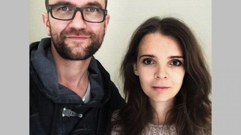 Tomasz Kot z żoną Agnieszką (fot. materiały prasowe)