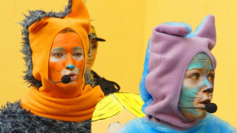 """Mamy dla Was bilety na spektakl """"Koty trzy"""" (fot. mat. Teatr Gry i Ludzie)"""