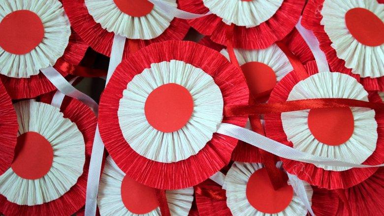 Święto Niepodległości obchodzimy 11 listopada, ale już 9 listopada dzieci wezmą udział w warsztatach tworzenia patriotycznych kotylionów (fot. pixabay)
