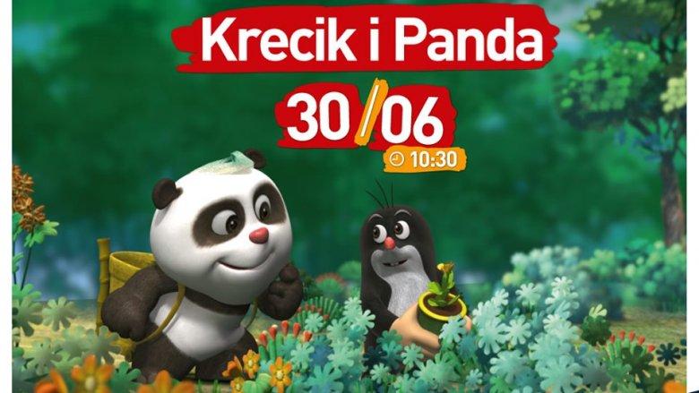 """Przygody """"Krecika i Pandy, cz. 2"""" będzie można zobaczyć 30 czerwca (fot. mat. organizatora)"""