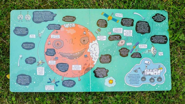 """""""Misja Kosmos"""" to kolejna świetna książka autorstwa Tomasza Samojlika (fot. Ewelina Zielińska)"""