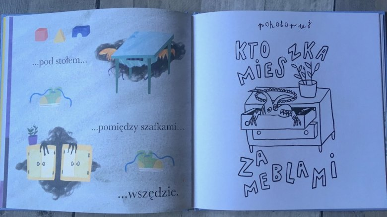 Książkę napisała 6-letnia Pola Stępniewicz (fot. Ewelina Zielińska/SilesiaDzieci.pl)