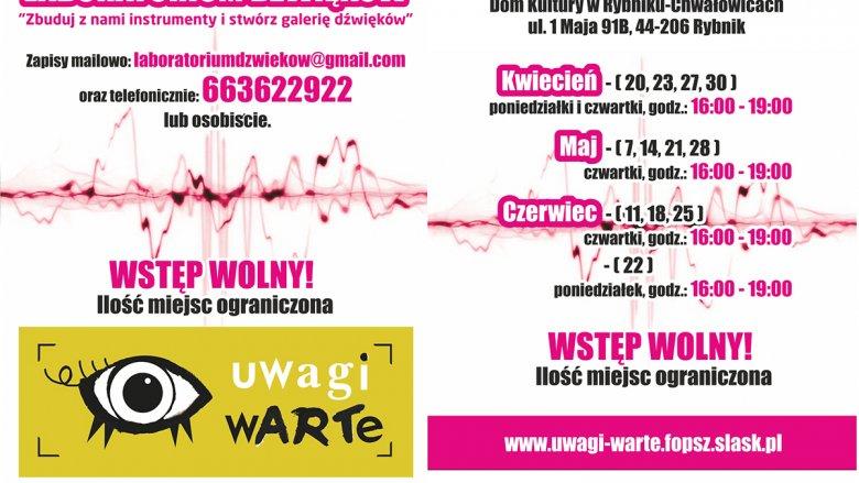 Skonstruowane podczas Laboratorium Dźwięków instrumenty trafią do publicznej Galerii Dźwięków (fot. mat. organizatora)