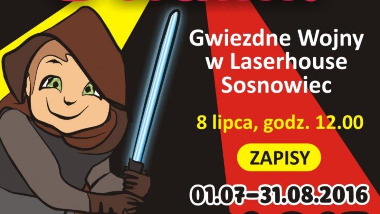 MBP w Sosnowcu zaprasza na dwugodzinną zabawę do Centrum Rozrywki Laserhouse (fot. mat. MBP)
