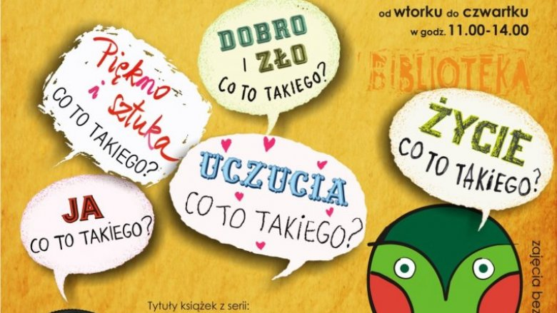 """Akcja """"Lato z Książką"""" jest skierowana do dzieci, które spędzają wakacje w Katowicach (fot. mat. organizatora)"""