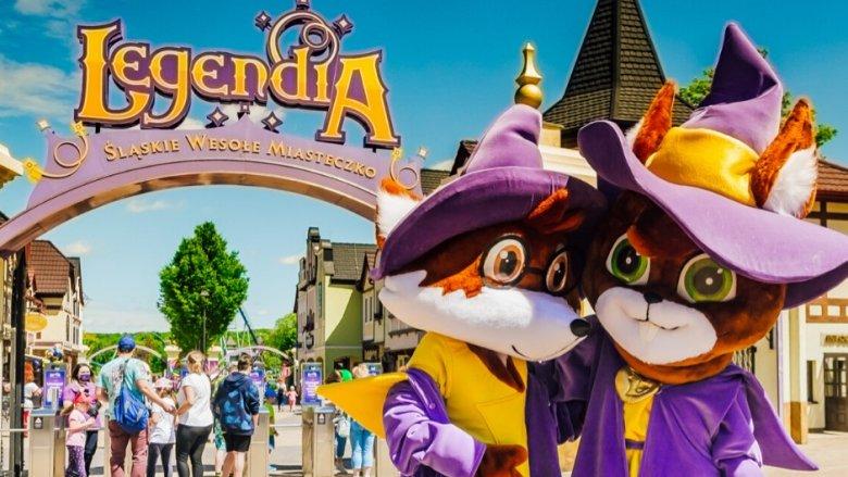 Kupując bilet sezonowy można korzystać z atrakcji parku w każdy dzień otwarcia Legendii (fot. mat. organizatora)