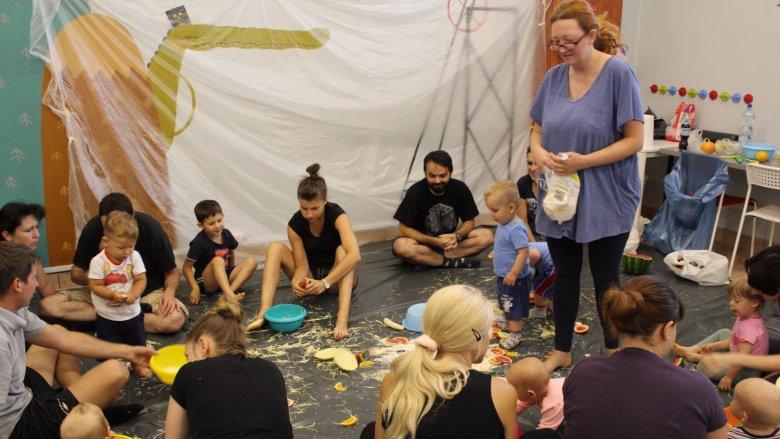 Legalne brudzenie to cykl warsztatów dla dzieci i rodziców organizowanych w Gryfnym Graniu (fot. mat. organizatora)