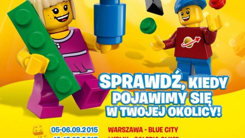 LEGO Polska w 8 miastach Polski organizuje spotkania, warsztaty i zabawy z dziećmi. 19-20 września zawita do Katowic (fot. mat. organizatora)