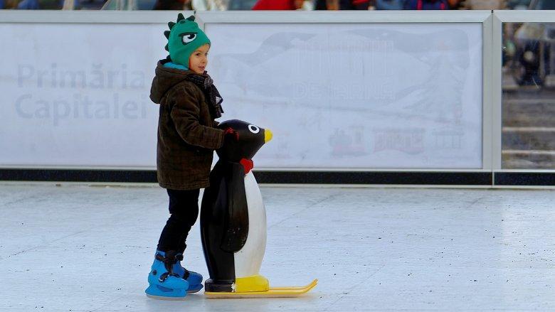 Na katowickim Rynku działa również wypożyczalnia sprzętu - chodzik-pingwinek to koszt 10 zł/godz. (fot. pixabay)