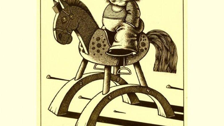 Edward Lutczyn od wielu lat tworzy ilustracje do książek dla dzieci i satyryczne obrazki dla dorosłych (fot. mat. prasowe)