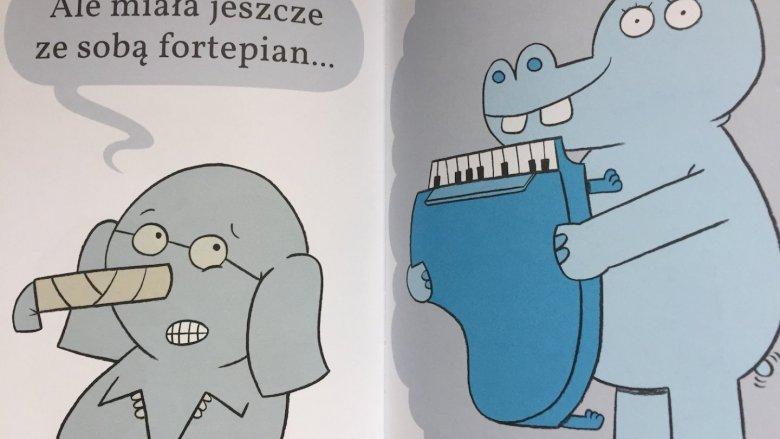 Przygody świnki i słonia to lektura zarówno dla maluchów, jak i dla nieco starszych dzieci (fot. SilesiaDzieci.pl)