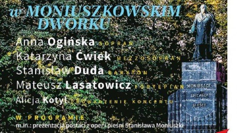 Przed koncertem o godz.15 dzieci spotkają się przy pomniku Stanisława Moniuszki (fot. mat. organizatora)