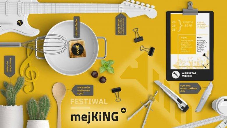 Festiwal mejKING odbędzie się 24-26 sierpnia przy al. Przyjaźni w Gliwicach (fot. mat. organizatora)