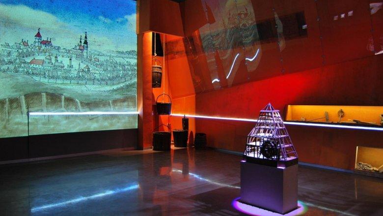 Multimedialne Muzeum Górnictwa w budynku nadszybia Kopalni Srebra (zdj. archiwum SMZT)