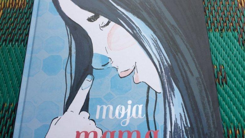 """""""Moja mama"""" to książeczka, która już na pierwszy rzut oka wydaje się dość niezwykła  (fot. Ewelina Zielińska/SilesiaDzieci.pl)"""