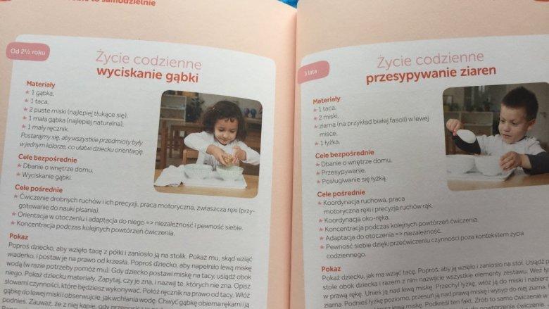 Wszystkie ćwiczenia są opisane w bardzo przystępny sposób (fot. SilesiaDzieci.pl)