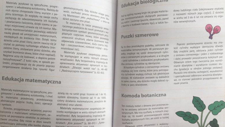 Wszystkie opisane zabawy i ćwiczenia zostały oparte o zasady pedagogiki Marii Montessori (fot. Ewelina Zielińska/SilesiaDzieci.pl)