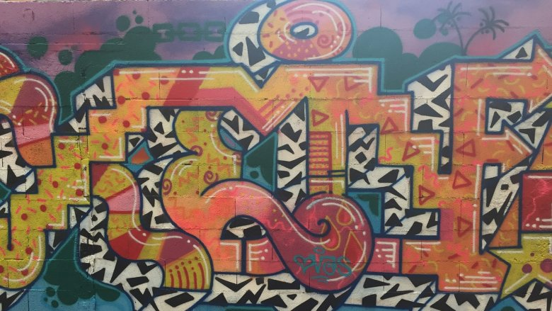 StreetArt to dziedzina sztuki obejmująca dzieła tworzone w przestrzeni publicznej np. graffiti (fot. pixabay)