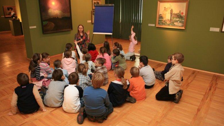 Zajęcia dla dzieci w Muzeum Górnośląskim w Bytomiu (fot. mat. organizatora)