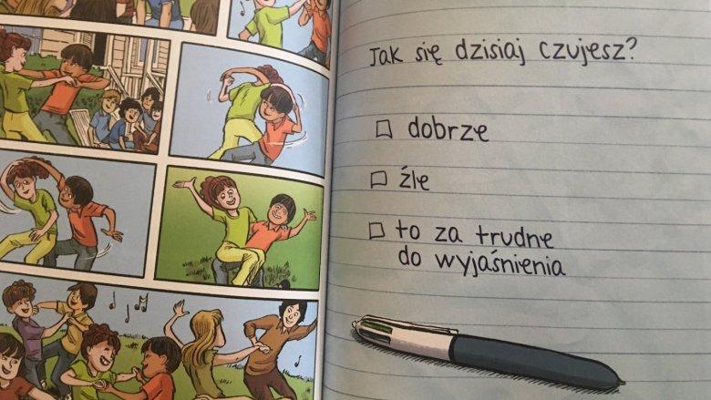 Bohaterką komiksu jest Sara (fot. Ewelina Zielińska/SilesiaDzieci.pl)