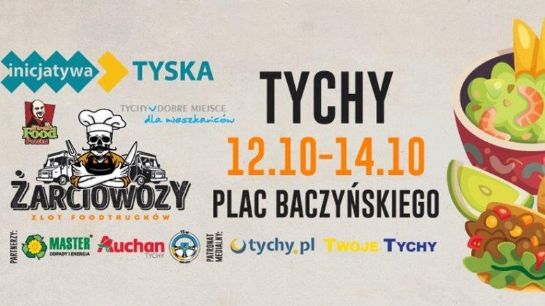 Tym razem żarciowozy zaparkują na Placu Baczyńskiego w Tychach (fot. mat. organizatora)