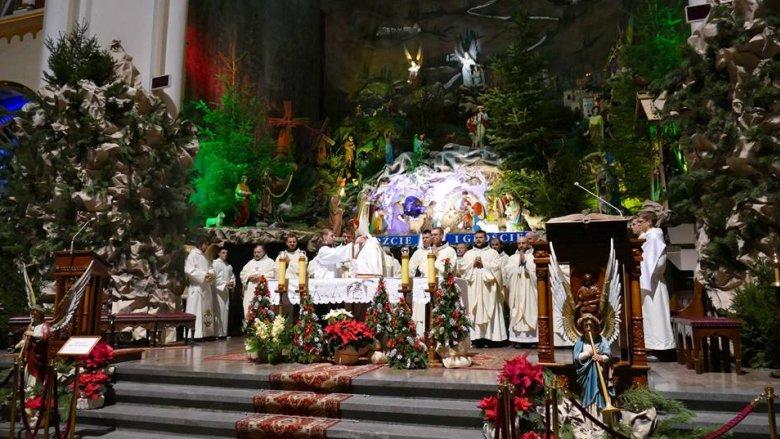 Największa w Europie szopka bożonarodzeniowa znajduje się w katowickich Panewnikach (fot. archiwum zdjęć na Fb bazyliki)